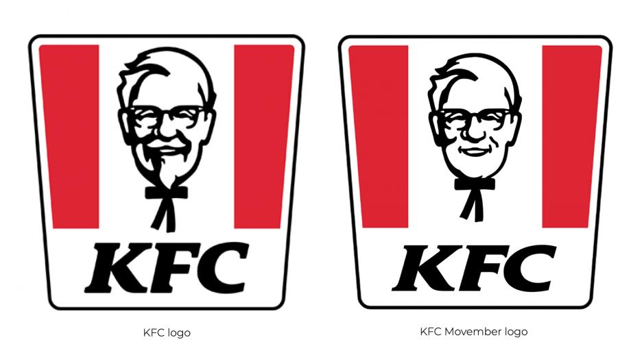 KFC logo's