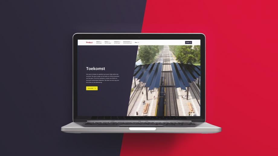 Nieuwe website Prorail