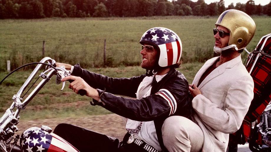 Easy Rider met Peter Fonda en Jack Nicholson
