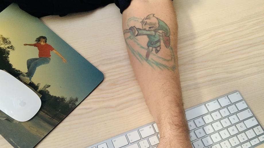 Marco Jongeneels 'plakplaatje'