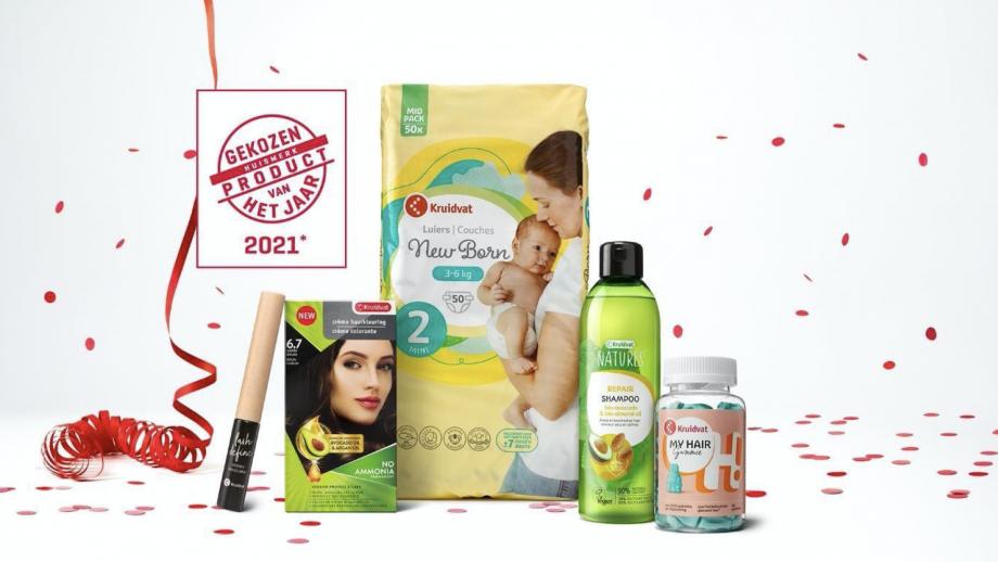 Aldi en Kruidvat winnen Huismerk Product van het Jaar 2021