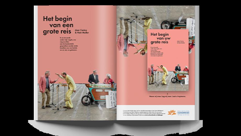 Campagne uiting het Prins Bernhard Cultuurfonds