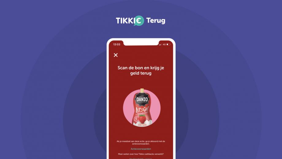 Tikkie geeft Tikkie Terug voor cashback-acties vaste plek in app