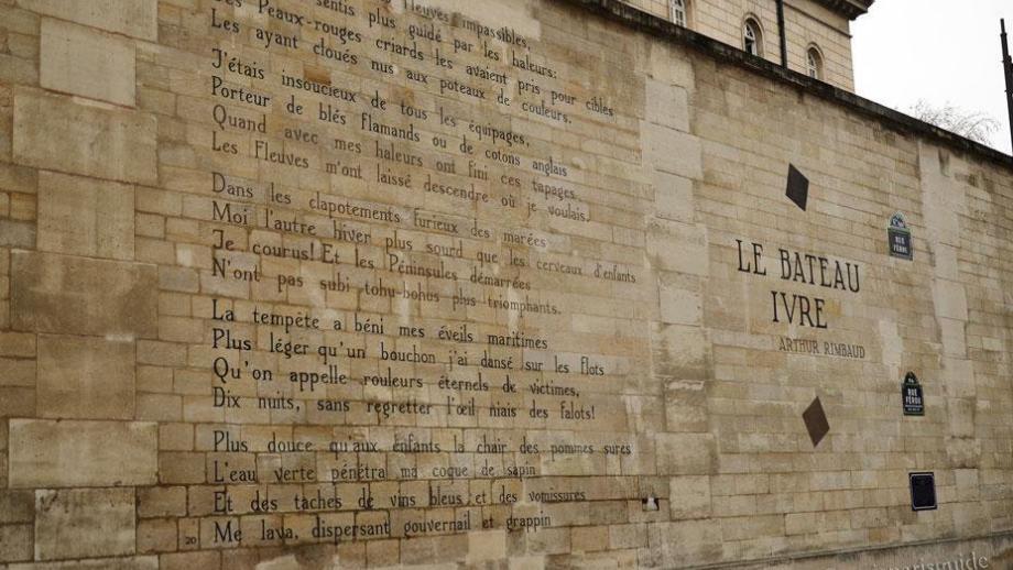 Le Bateau Ivre van Rimbaud