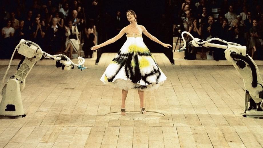 Alexander McQueens Savage Beauty Robot Dress