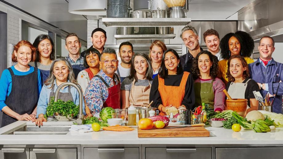 De oorspronkelijke crew van Bon Appétit