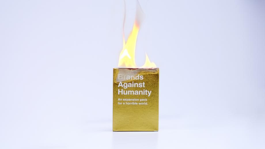 De wereld staat in brand