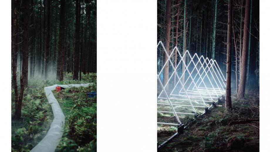 Lichtkunst staat centraal in filmische campagne van e-bikemerk Haibike