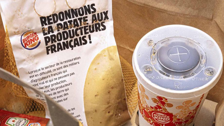 Burger King aardappelen