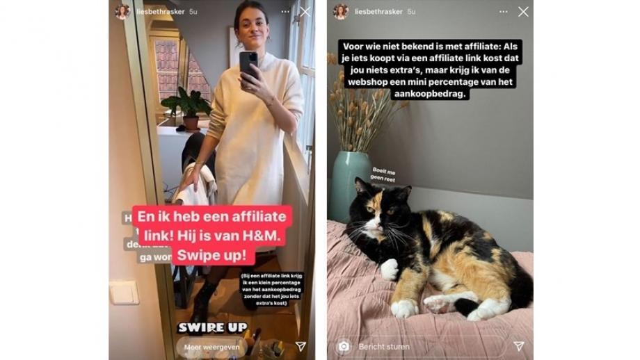 Liesbeth Rasker voor H&M
