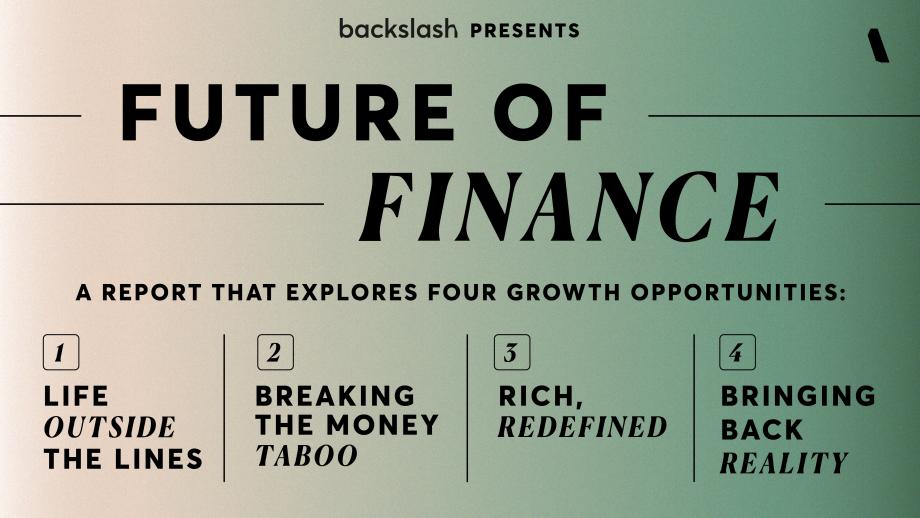 Future of Finance onderwerpen