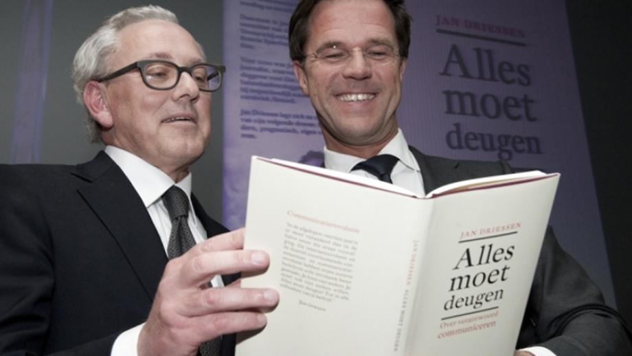 Jan Driessen en Mark Rutte