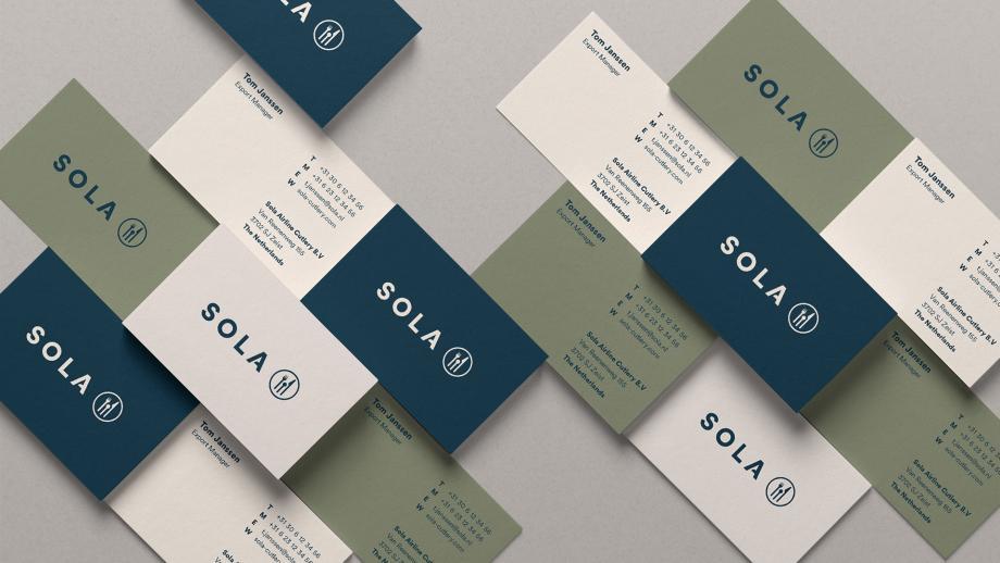 Nederlandse bestekgigant Sola viert 100-jarig bestaan met nieuwe merkidentiteit