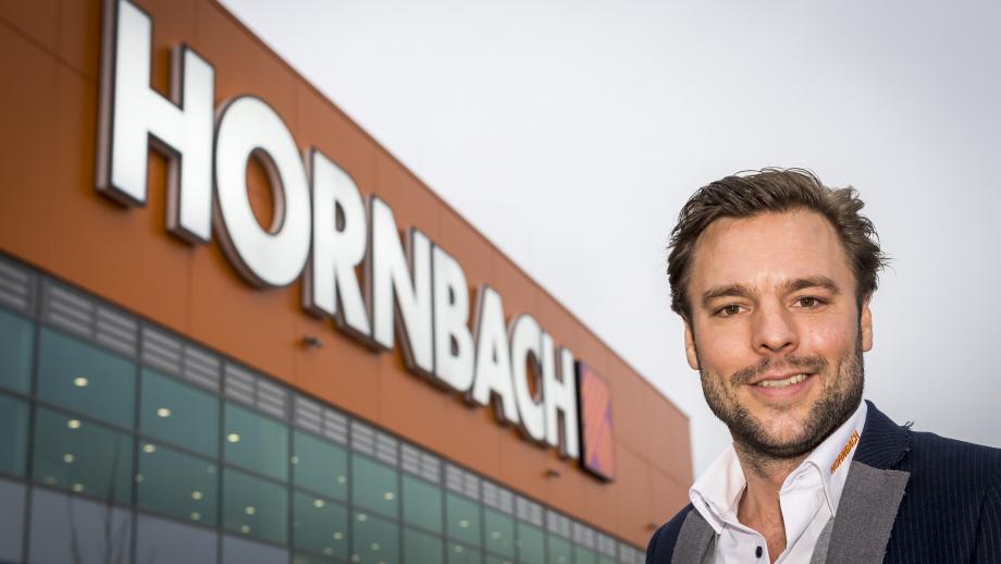 Maarten Post, Hoofd Marketing & Communicatie Hornbach Nederland.