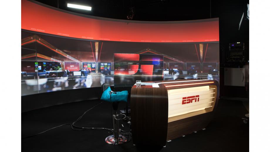 Bij sportzender ESPN gaat de show altijd door