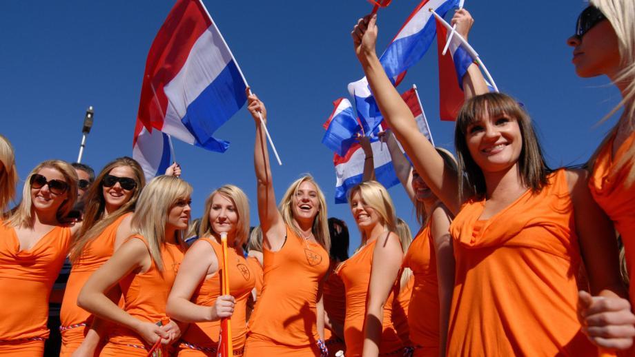 De Bavaria Babes tijdens het WK Voetbal 2010 in Zuid-Afrika