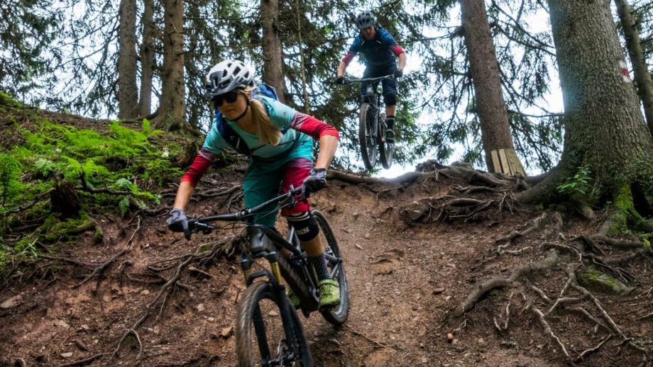 Mountainbikepaden krijgen nu ook een kleursysteem, net als op skipistes