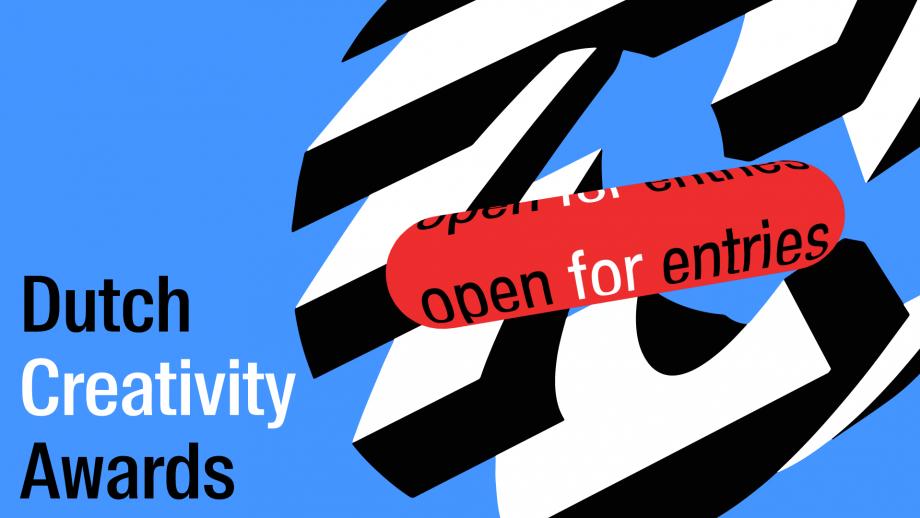 De nieuwe identiteit van de Dutch Creativity Awards, van Thonik