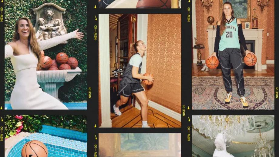 Sabrina Ionescu voor Nike 'Play New'