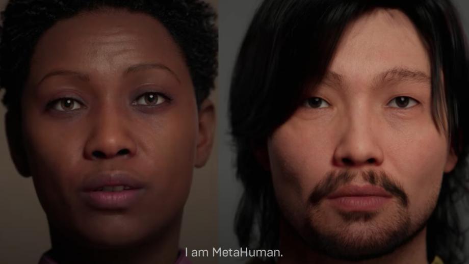 'You create the narrative, I am MetaHuman'