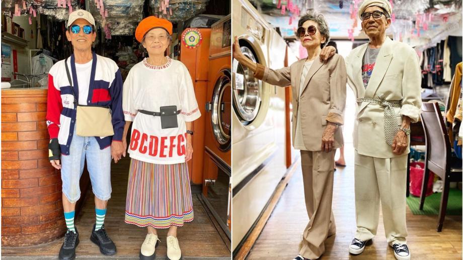 Wan-ji, 83, en Hsu Sho, 84