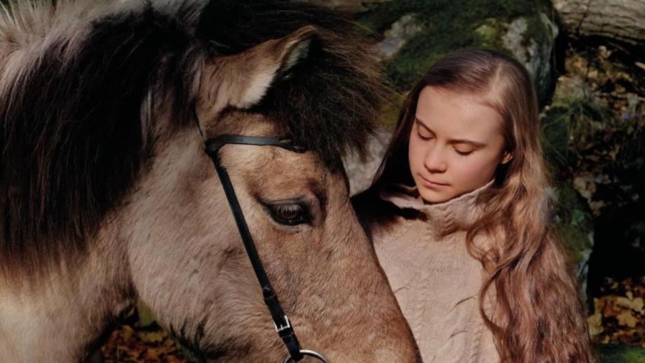 Greta in Vogue Scandinavia