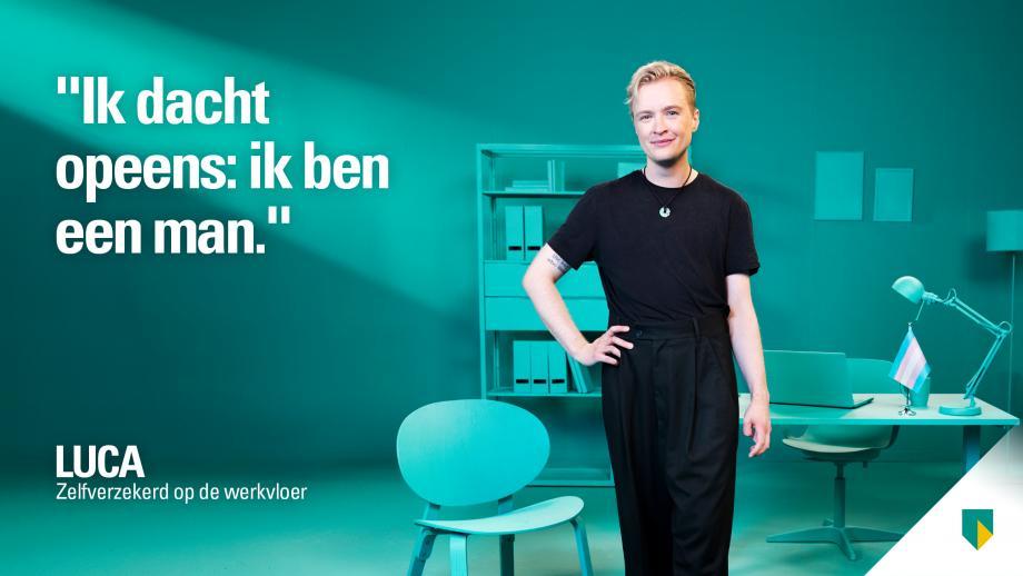 ABN Amro lanceert Pride-campagne: 'Zelfverzekerd op de werkvloer'