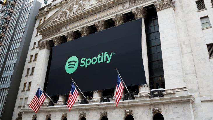 Spotify, beursintroductie, Wall Street, New York