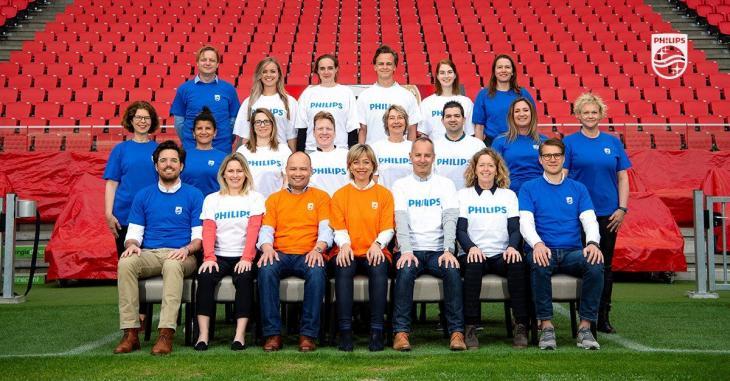 Het team van Philips