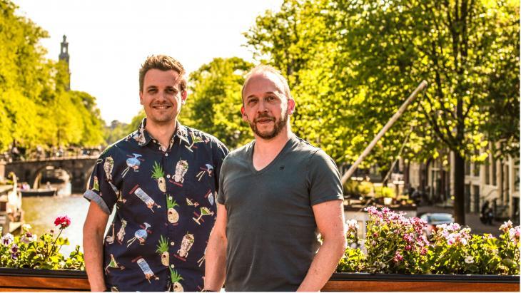 Thomas Minken en Daniel Snelders