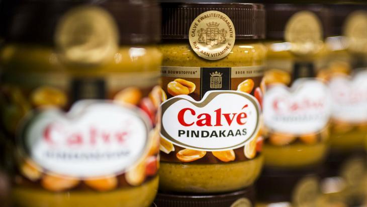 Calvé-pindakaas van Unilever
