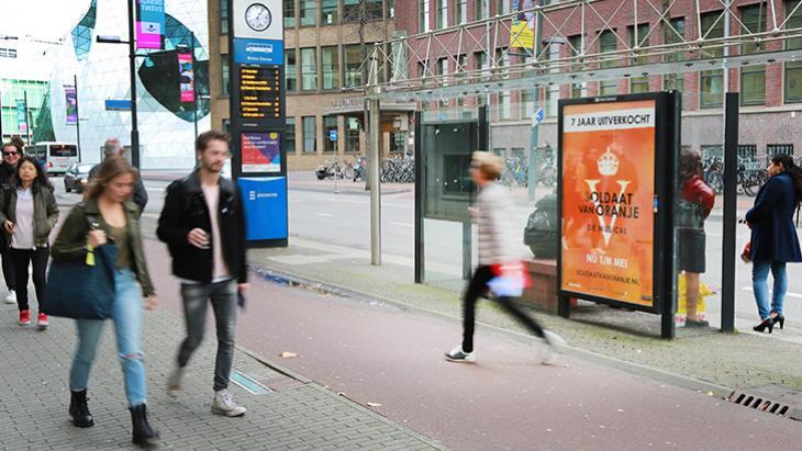 Outdoor uitingen in niet-stedelijk trekken meer aandacht