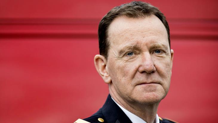 Brandweercommandant Leen Schaap van Brandweer Amsterdam Amstelland.