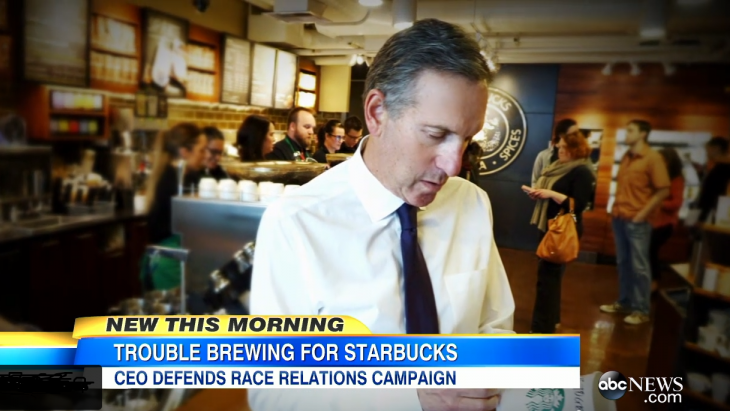 Howard Schultz, Starbucks-ceo