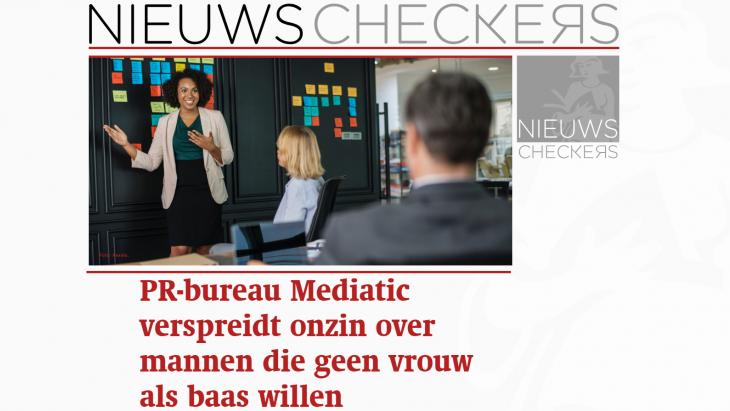 PR-bureau Mediatic duikt nadat het betrapt is op kop die niet klopt