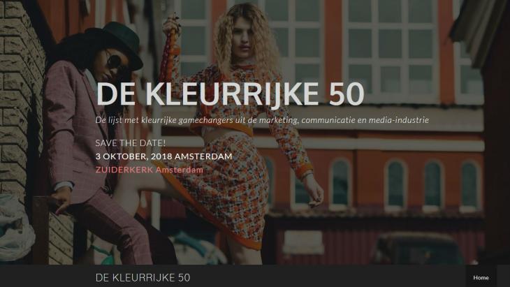 De Kleurrijke 50