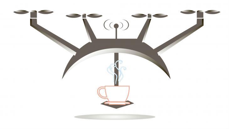 Coffee drone