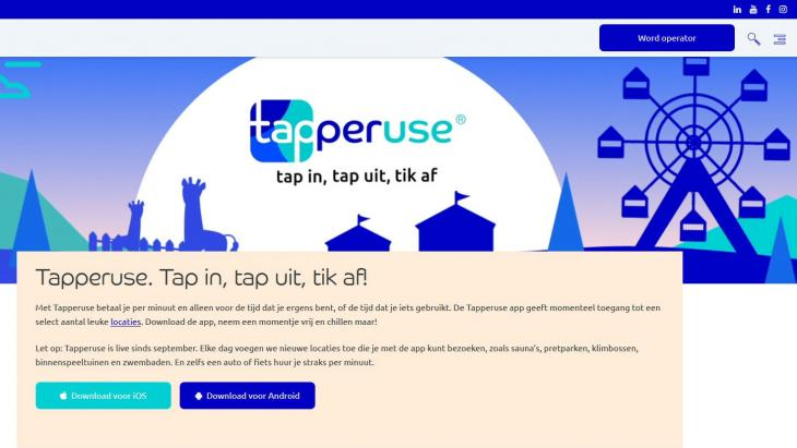 Homepage Tapperuse