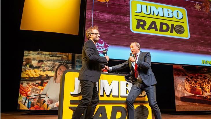 Startsein Jumbo Radio door Frits van Eerd
