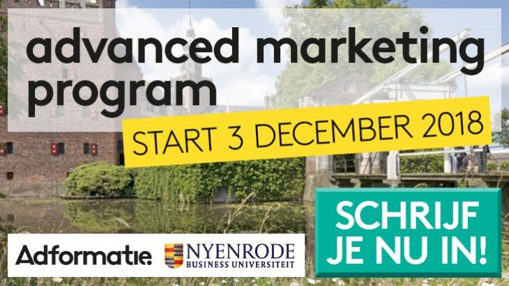 Nyenrode Advanced marketing program