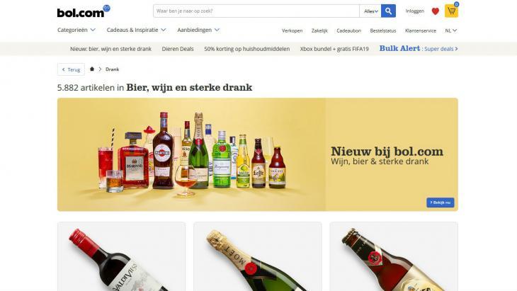 Bol.com wordt e-slijter