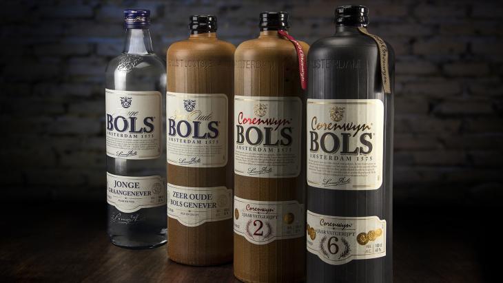 Nieuw verpakkingsdesign Bols Genevers