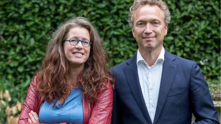 Ilse van Ravenstein en Michiel van Delden