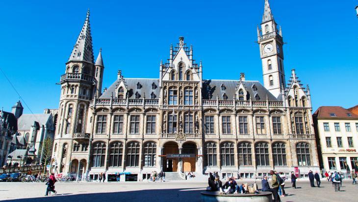 Het oude postkantoor in Gent