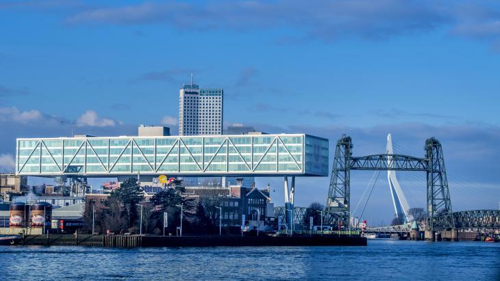 Het hoofdkantoor in Rotterdam van Unilever.