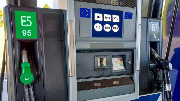 Van Euro 95 naar E10