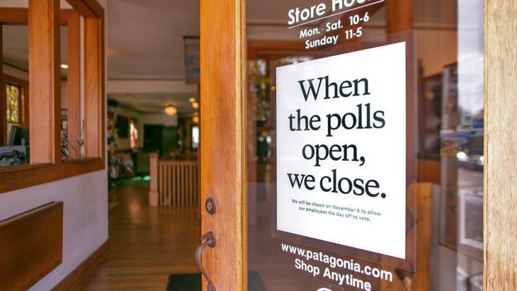 Nieuwe Patagonia-campagne met het oog op de Midterm-verkiezingen in de VS