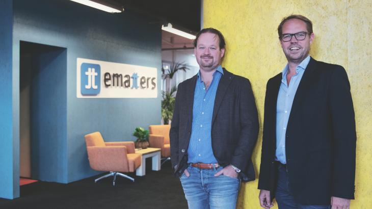 Wouter Theijsmeijer en Jeroen de Graaf (Ematters): 'Clickratio's van 50% zijn mogelijk'