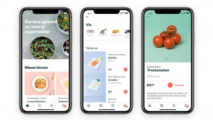 Mobiele app van Crisp