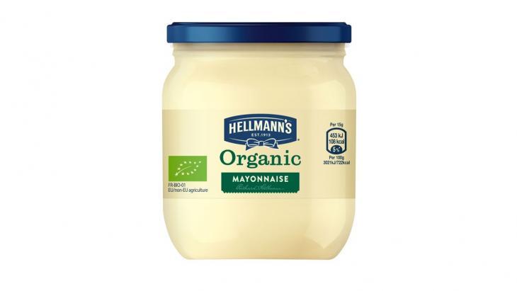 Biologische mayonaise van Hellmann's